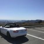 夫、蔵王山展望台へ平日ドライブ