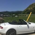 ロードスターで青山高原ドライブ(助手席より報告)三重県伊賀市