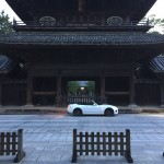 夫、徳川家康ゆかりの大樹寺へ朝4時に行きロードスターと撮影会をひっそり開く