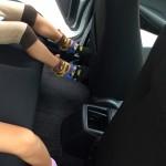 マツダのディーラーでデミオXDTouringを子どもと一緒に試乗させてもらいました