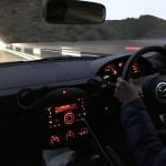 私が紀勢自動車道を夫のロードスターで運転する(復路)